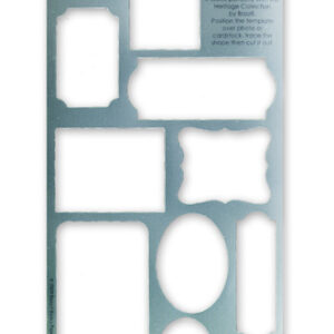 """Bazzill Heritage Template 6""""X12"""""""