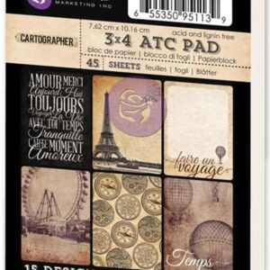 "Cartographer Collection - ATC Cards - 3"" x 4"""