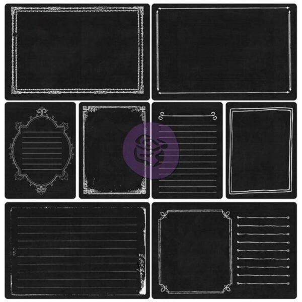 Everyday Vintage Pocket Paintables Cards - Chalk ATC