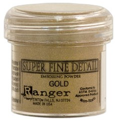 Embossing Powder - Super Fine - Gold - Ranger