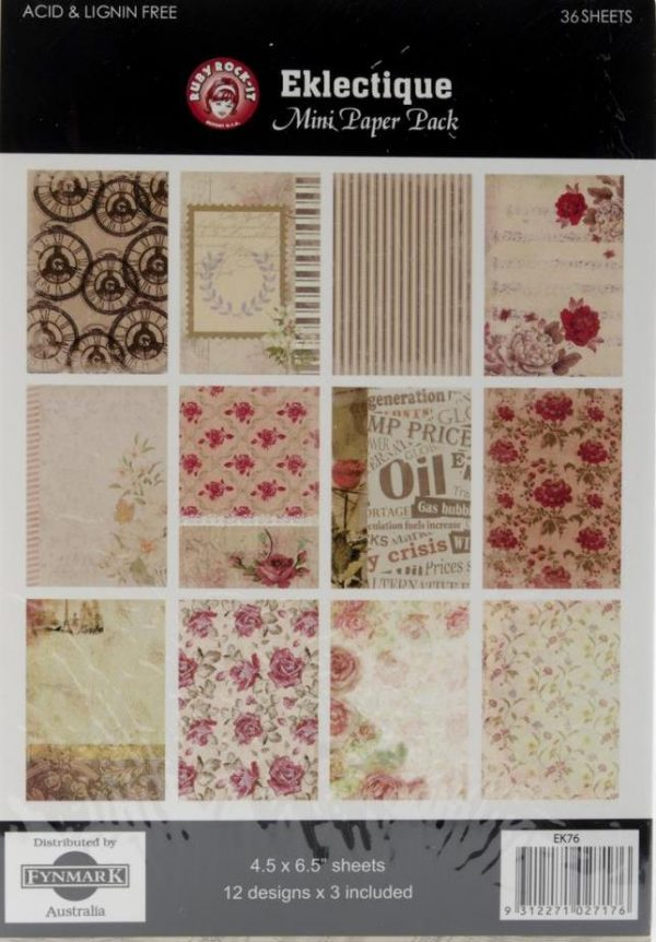 "Eklectique - Mini Paper Pack 4.5"" X 6.5"""