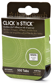 Click n Stick Mounting Tabs 500/Pkg
