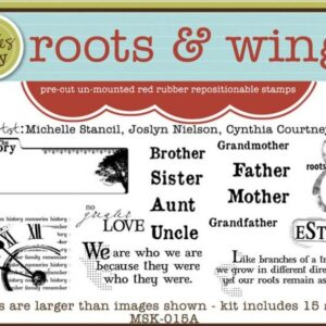Unity Stamp - Roots & Wings