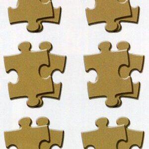 Scrapworks - Canvas Collection - Natural - Puzzle Pieces