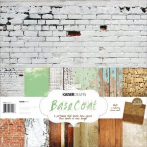 "Base Coat - Paper Pack 12""X12"" 12/Pkg"