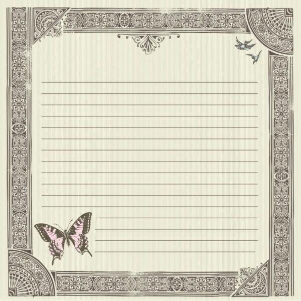 Bonjour Foil Paper - Merci