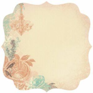 Periwinkle - Die-Cut Paper - Shimmer