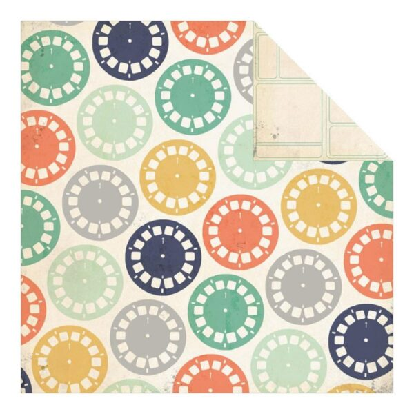 """Now & Then Izzy Double-Sided Cardstock 12""""X12"""""""