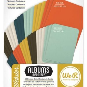Webster - Cardstock Cards