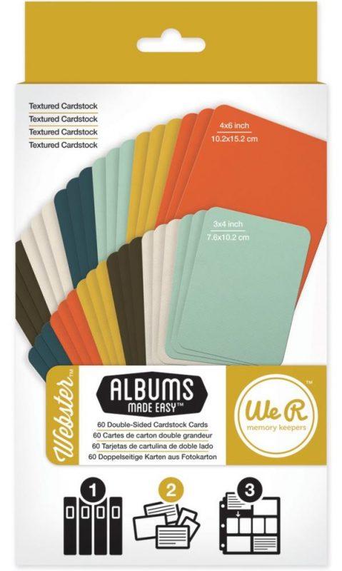 Webster - Cardstock Cards