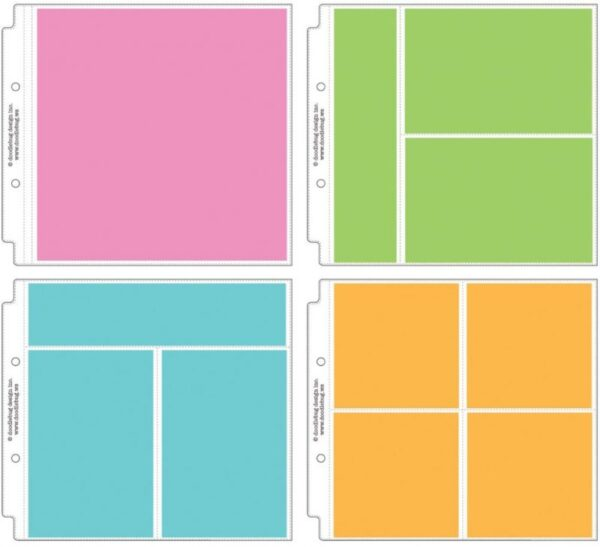 """Page Protector Assortment 8""""X8"""""""