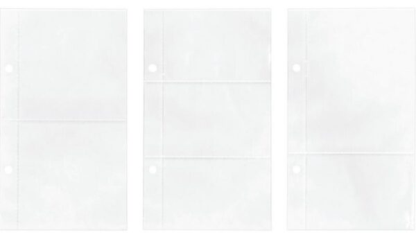 "Idea-Ology 2-Hole Page Pockets - Assorted 4""X7"""