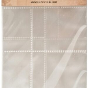 Idea-Ology 2-Hole Page Pockets - Assorted Landscape