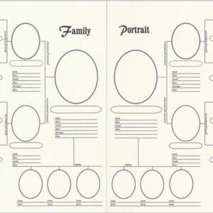 A Family Portrait - 8.5 X 11