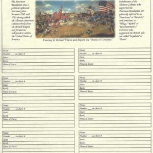 "Our Roots - 8.5"" X 11"" - Ancestors in the American Revolution"