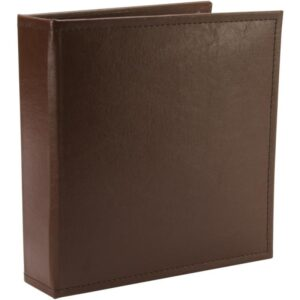 "Project Life Classic Faux Leather D-Ring Album 6""X8"""