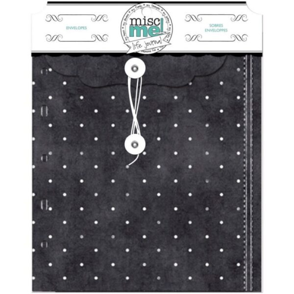 Misc Me - Envelopes - Black