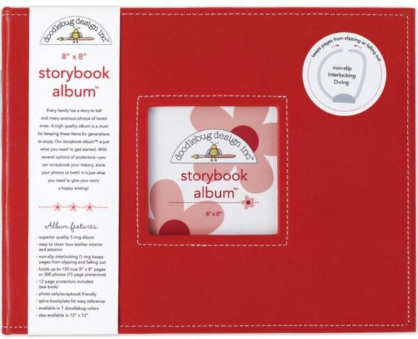 "Storybook Album - 8"" x 8"" - Ladybug"