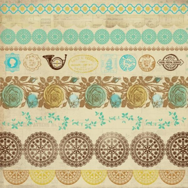 Madam Boutique Collection - Antiques Sticker Sheet