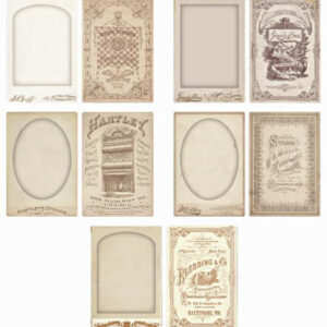 Idea-Ology - Cabinet Card Frames