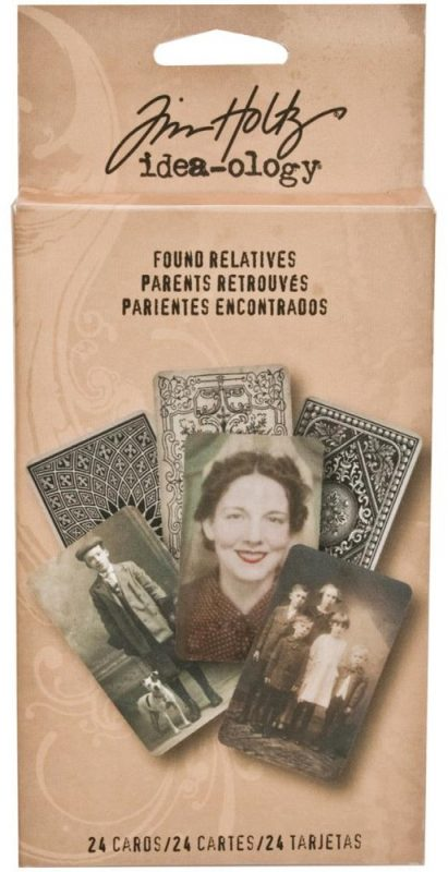 "Idea-Ology - Found Relatives Cards 3""X5"" 24/Pkg"