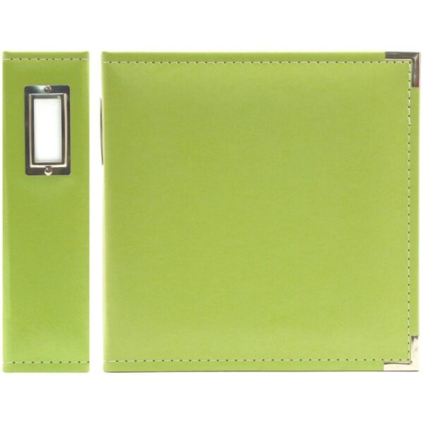 "We R Classic Leather Ring Binder - 5.5""x 8.5"""