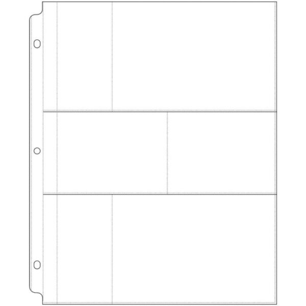 """Photo Sleeve for 8.5"""" X 11"""" - 3 Ring Albums"""