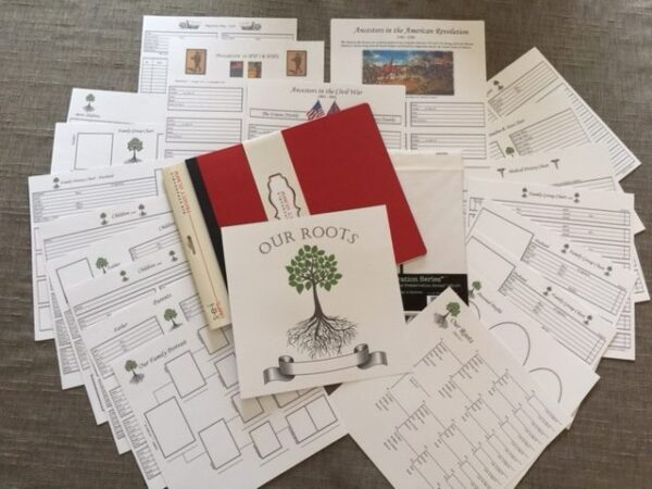 """Our Roots - 8"""" X 8"""" - Preservation Kit - White Charts"""
