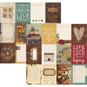 "Legacy - Elements - 3""X4"" Journaling Cards"