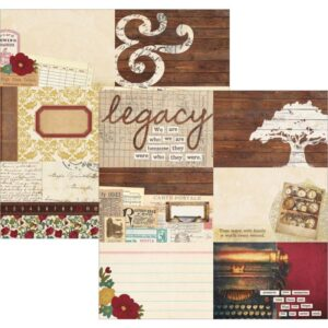 "Legacy - Elements - 4""X6"" Horizontal Journaling Cards"