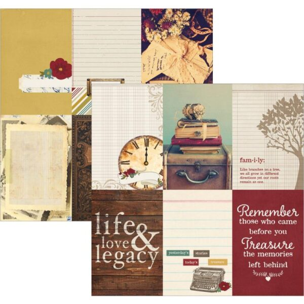"""Legacy - Elements - 4""""X6"""" Vertical Journaling Cards"""