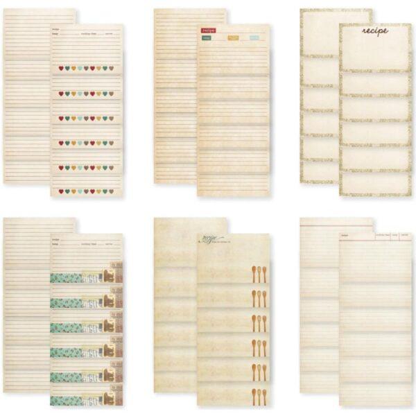 "Sn@p! Legacy - Recipe Cards 4"" x 6"" 36/Pkg"