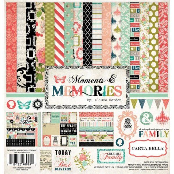 "Moments & Memories - Kit 12"" x 12"""