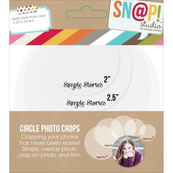 Sn@p! Photo Crops - Circle