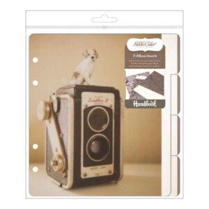 """Classic Calico 3 Album Inserts 6""""X8"""" 11/Pkg"""