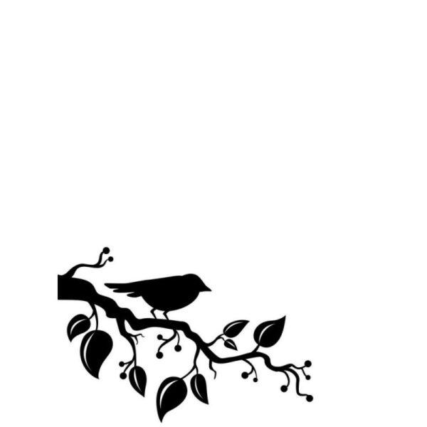 Darice Embossing Plus Folder - Bird On Branch