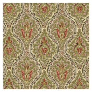 For The Boys - Green Paisley