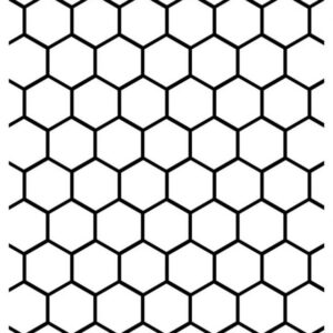 Darice Embossing Plus Folder - Honeycomb