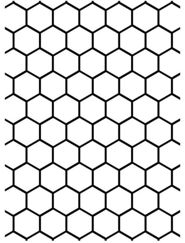 Darice Embossing Plus Folder - Honeycomb
