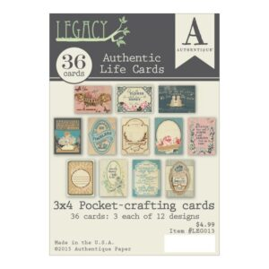 Legacy - Life Cards For Pockets
