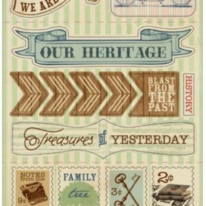 Legacy Cardstock Die-Cuts - Components Accents