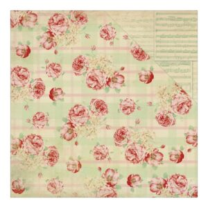 Origin Rose Plaid / Cream Sheet Music