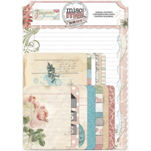 Misc Me - Garden Journal - Pocket Contents
