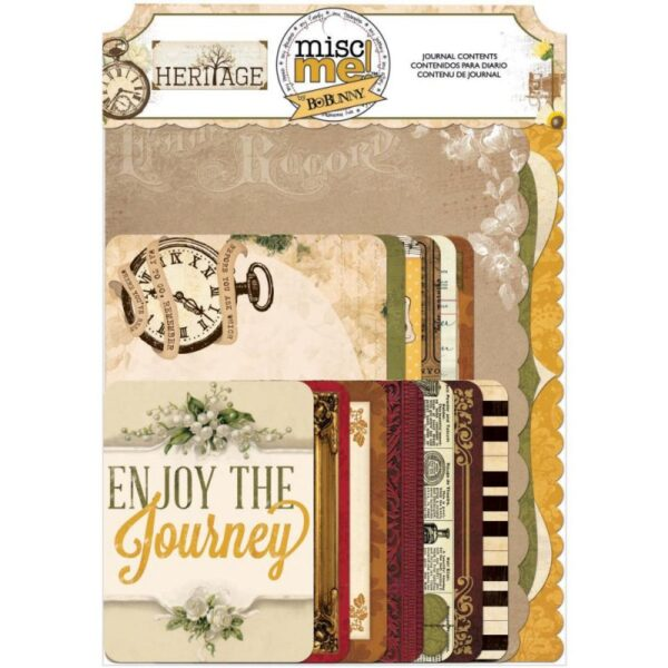 Misc Me - Heritage - Journal Contents