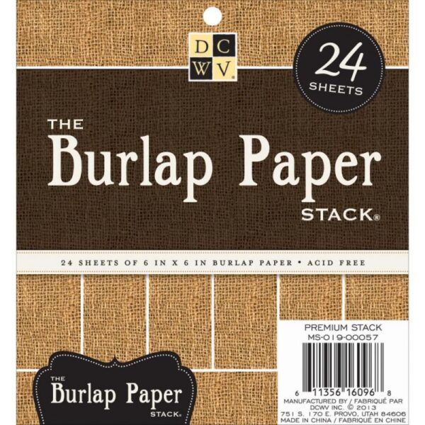 """Specialty Stack 6""""X6"""" 24/Pkg"""