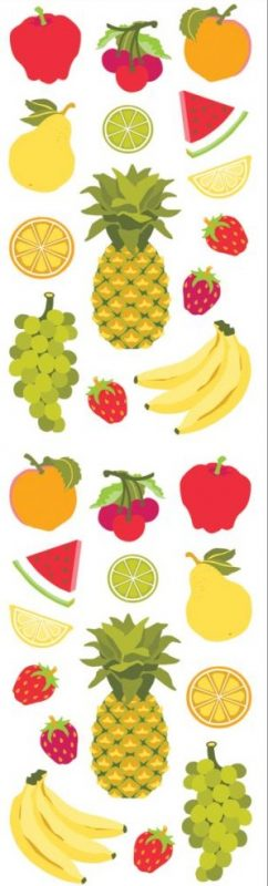 Mrs. Grossman's Stickers - Fruits