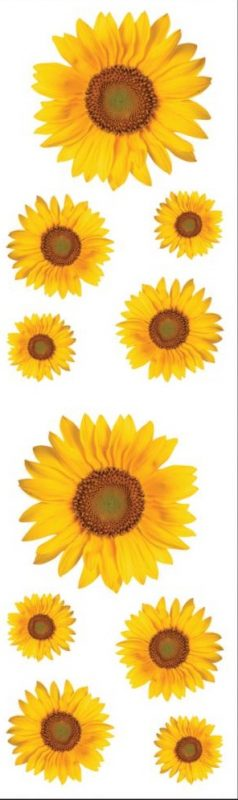Mrs. Grossman's Stickers - Sunflowers