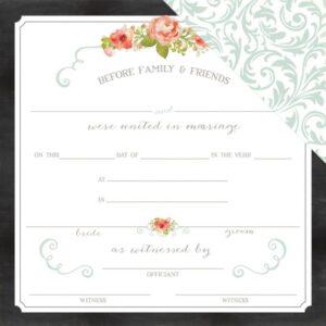 Rustic Elegance - Certificate