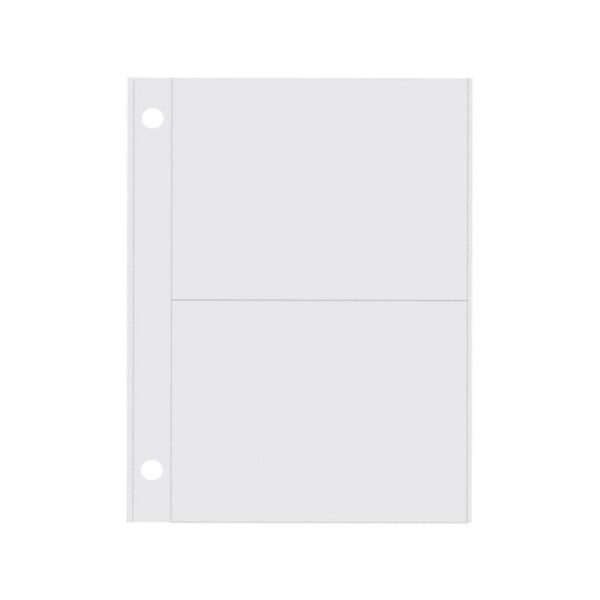 """Sn@p! Pocket Pages - (2) 3""""X4"""" Vertical Pockets"""