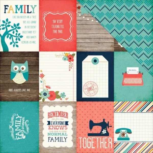 "The Story Of Our Family - 3""X4"" Journaling Cards"